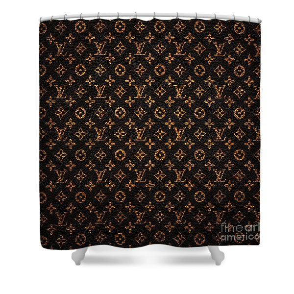 Lv Pattern Shower Curtain