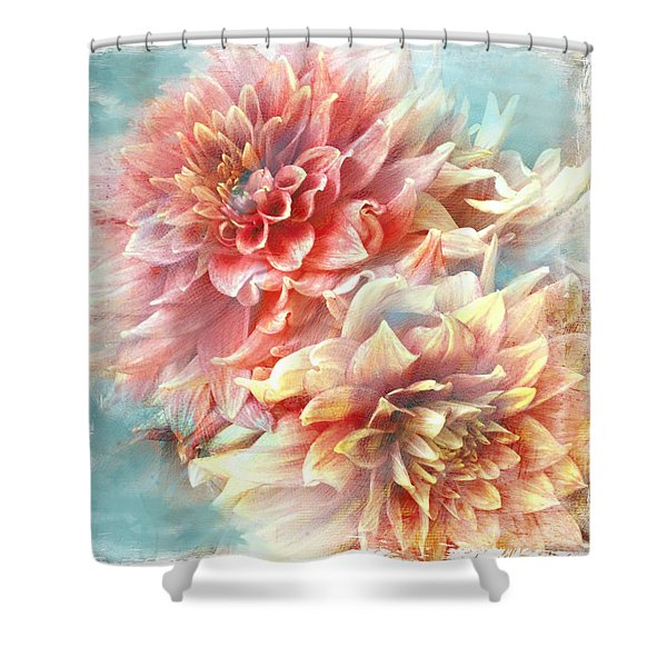 Lynia Dahlia Shower Curtain