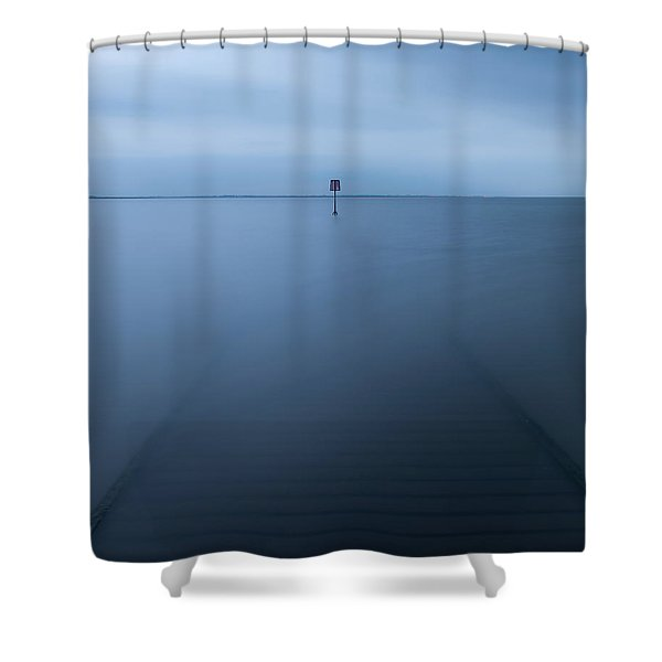 Lytham Jetty  Shower Curtain