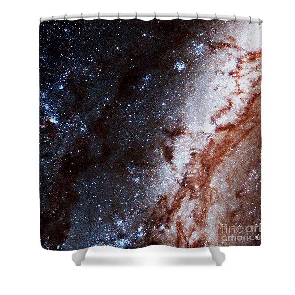 M51 Hubble Legacy Archive Shower Curtain