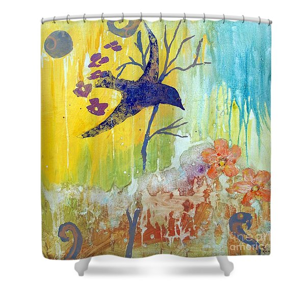 Ma Doh Bird Soars Shower Curtain