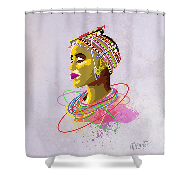 Maasai Beauty Shower Curtain