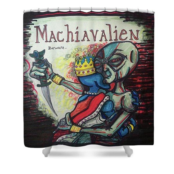 Machiavalien Shower Curtain