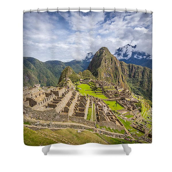 Machu Picchu Peru Shower Curtain