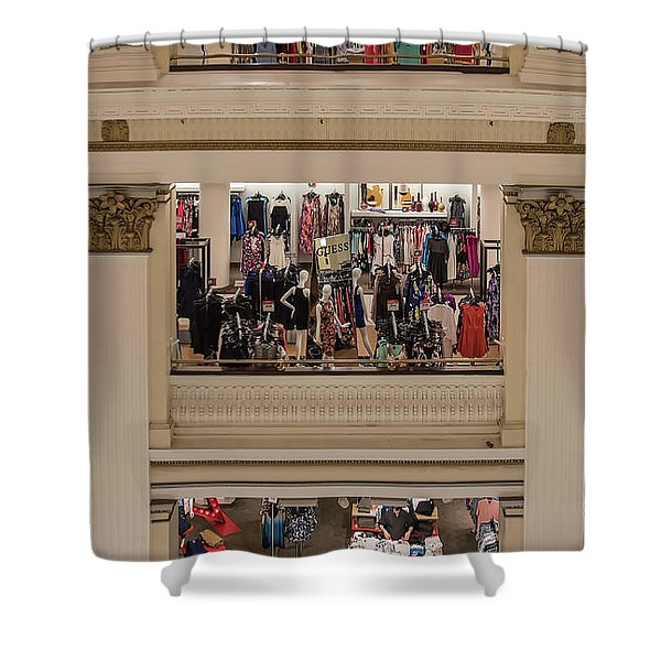 Macy's Department Store Shower Curtain