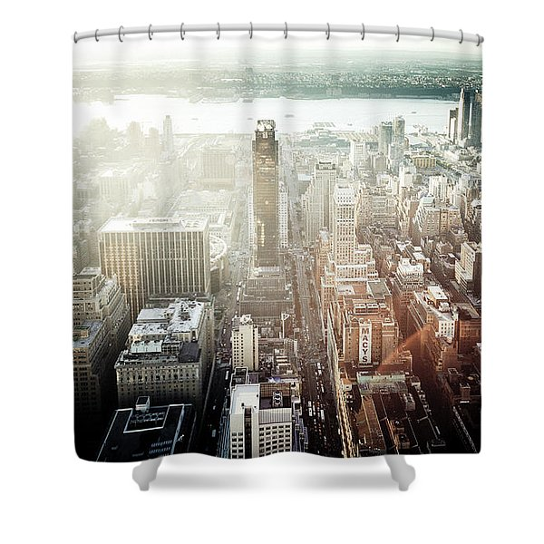 Sunset At Macy's Shower Curtain