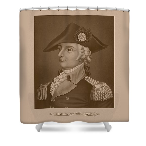 Mad Anthony Wayne Shower Curtain