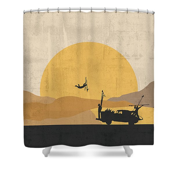Mad Max - Fury Road Poster Shower Curtain