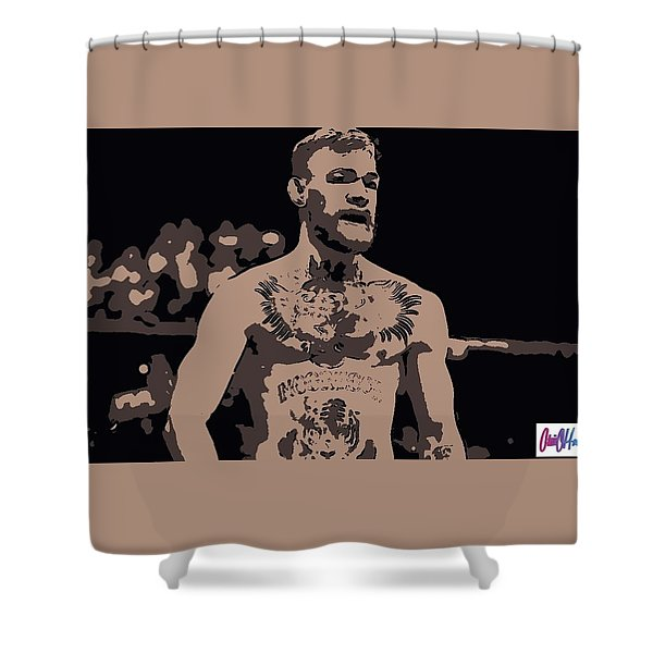Mad Mcgregor Shower Curtain
