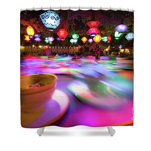 Mad Tea Party Shower Curtain