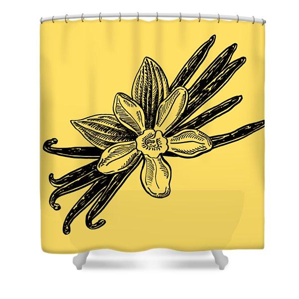 Madagascar Vanilla Shower Curtain