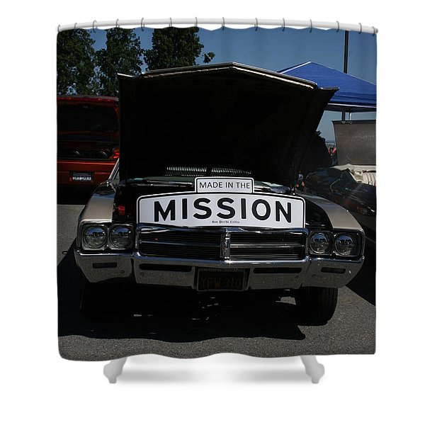 Made In The Mission Shower Curtain