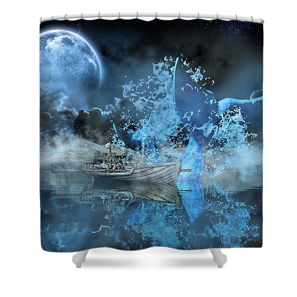 Made Me Smile Shower Curtain