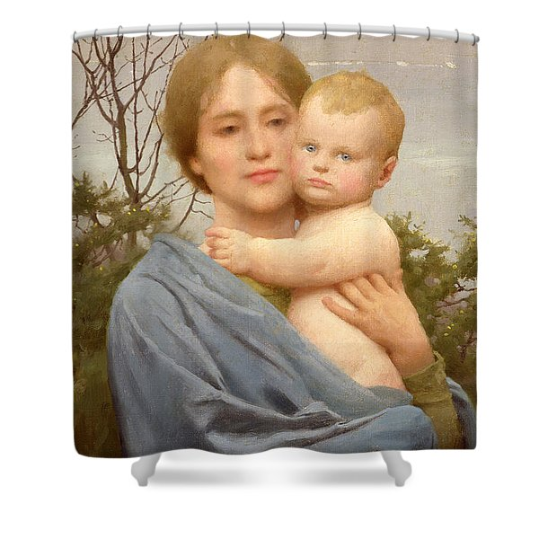 Madonna Of The Mount  Shower Curtain