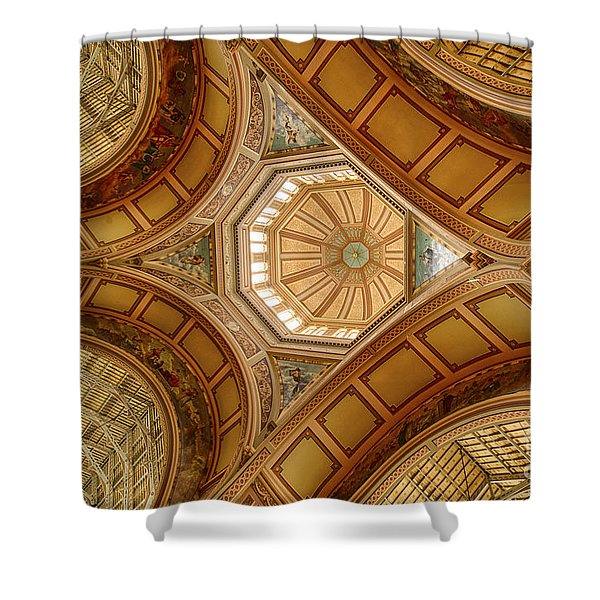 Magestic Architecture Shower Curtain