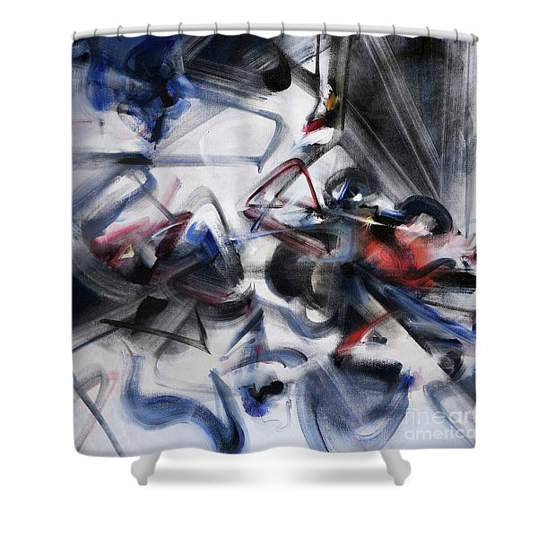 Magic And Science Shower Curtain