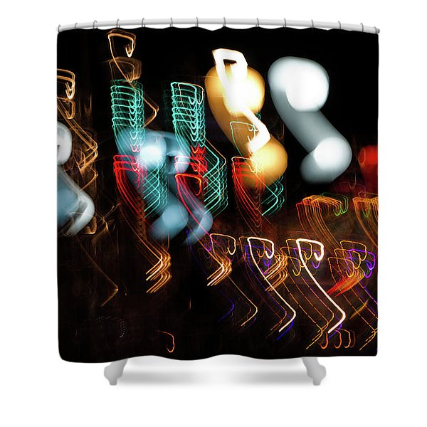 Magic Color Shower Curtain