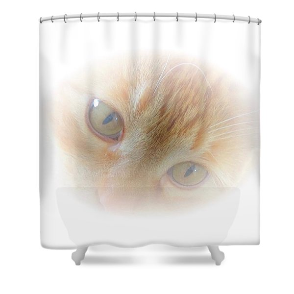 Magic Eyes Shower Curtain