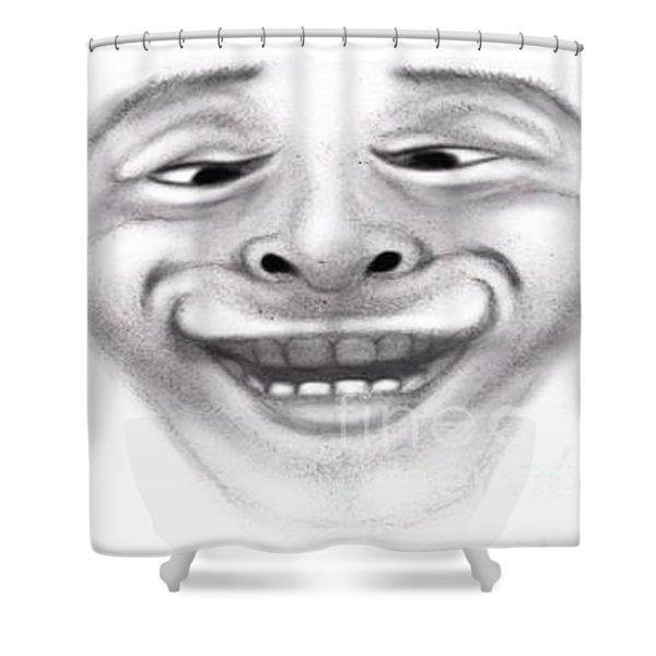 Magic Face Shower Curtain