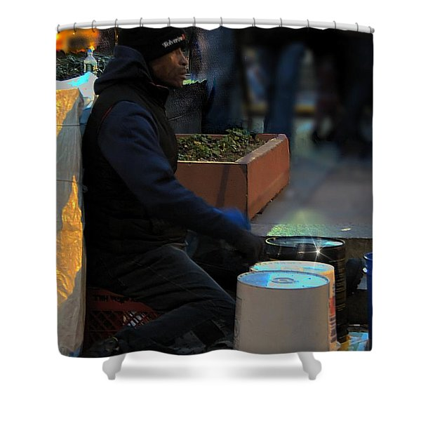 Magic In Love Park Shower Curtain