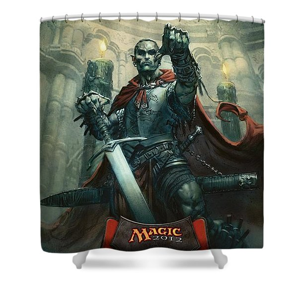 Magic The Gathering Shower Curtain