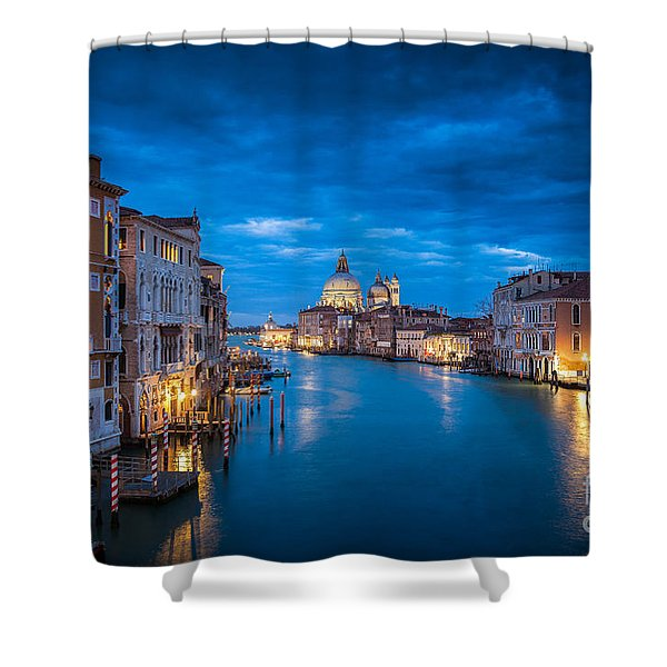 Magic Venice Shower Curtain