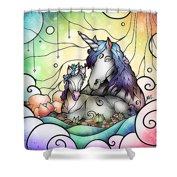 Magic Mama Shower Curtain
