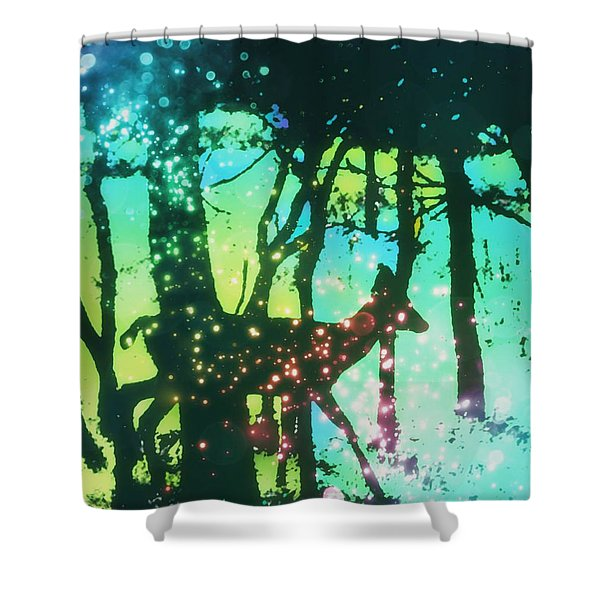 Magical Nature Shower Curtain