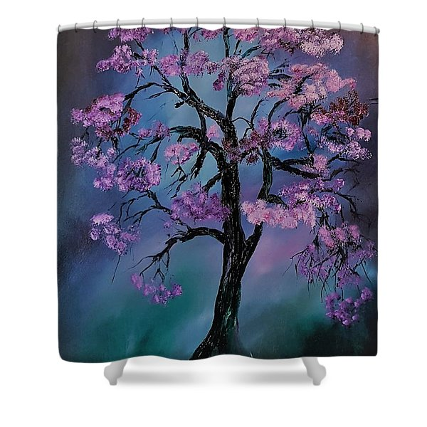 Magical Tree                  66 Shower Curtain