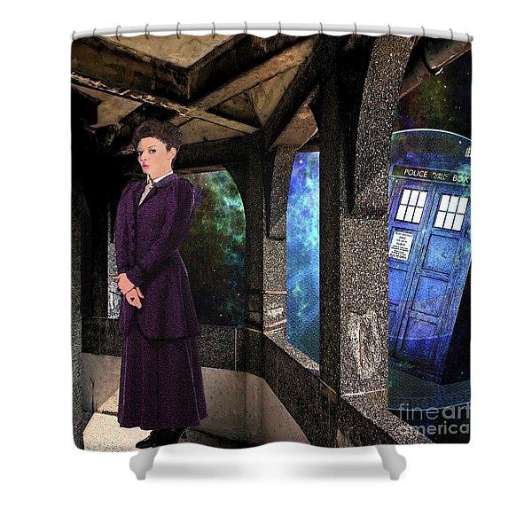 Magicians Apprentice Shower Curtain