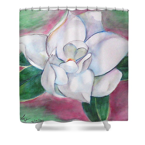 Magnolia 2 Shower Curtain