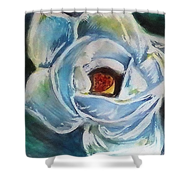 Magnolia 3 Shower Curtain