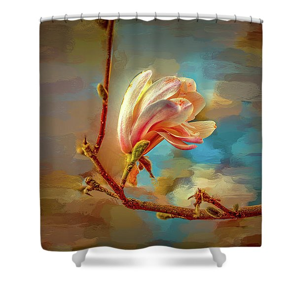 Magnolia Abs #h4 Shower Curtain