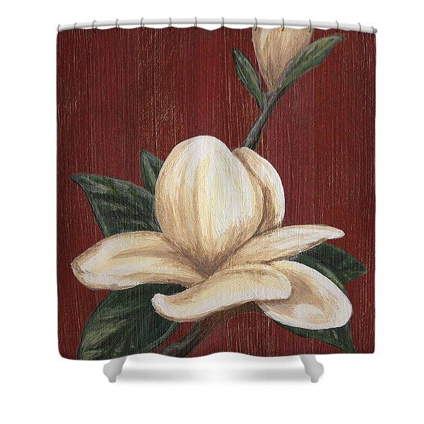 Magnolia I Shower Curtain