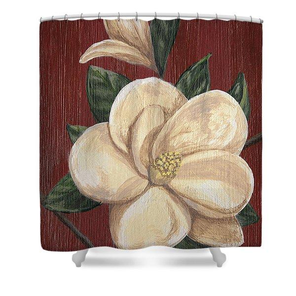 Magnolia II Shower Curtain