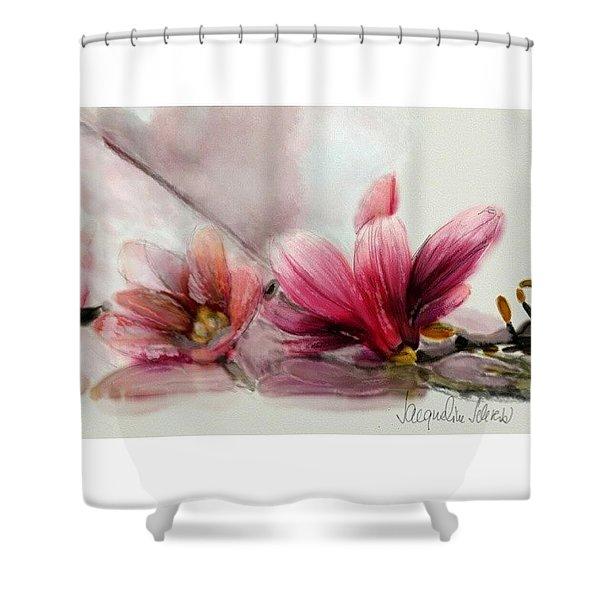 Magnolien .... Shower Curtain