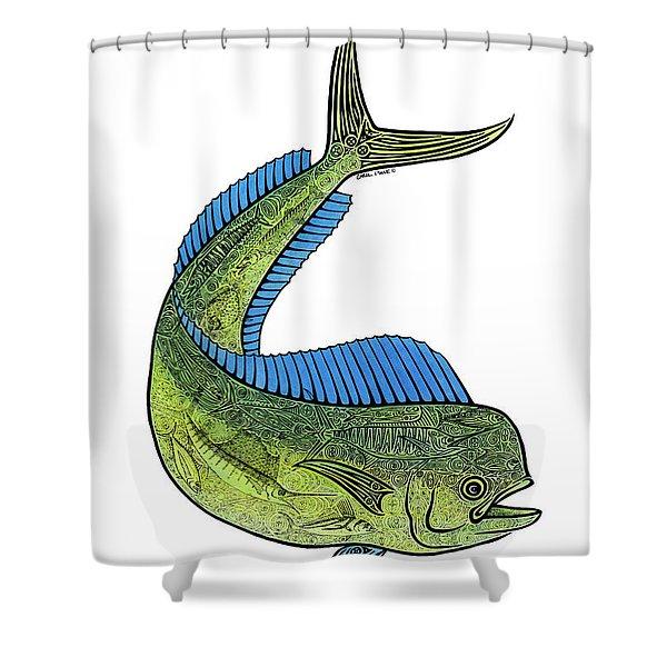 Mahi II Shower Curtain