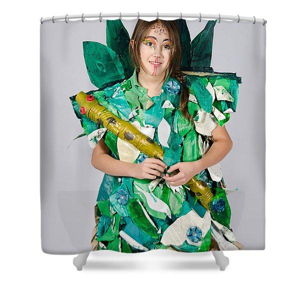 Mahko In The Jungle Book Shower Curtain