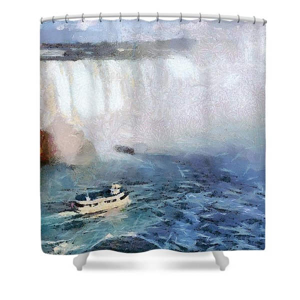 Maid Of The Mist Shower Curtain