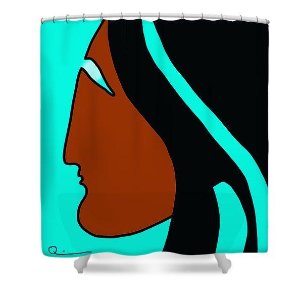 Maiden 2 Shower Curtain