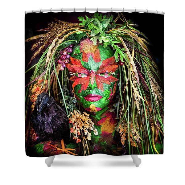 Maiden Of Earth Shower Curtain