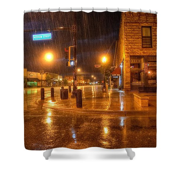 Main And Hudson Shower Curtain