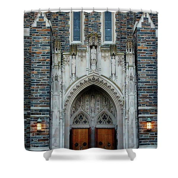 Main Entrance To Chapel Shower Curtain