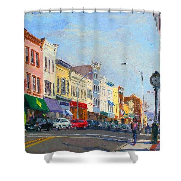 Main Street Nayck  Ny  Shower Curtain