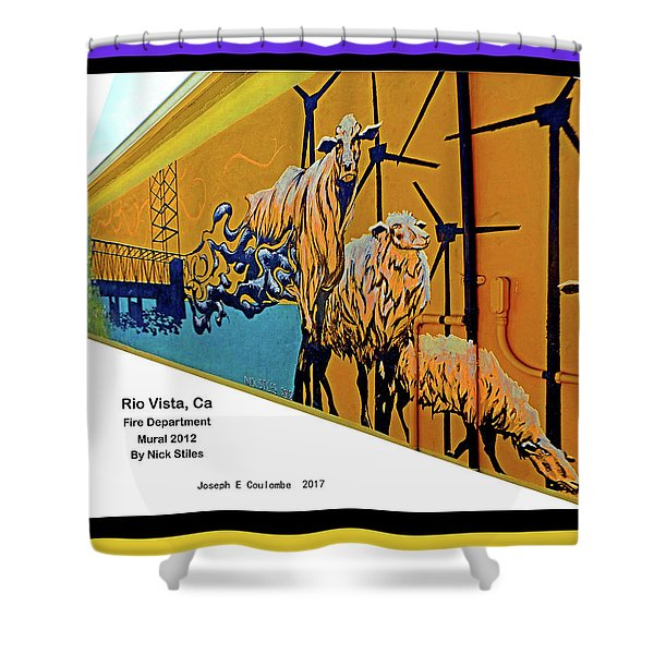 Main Street -  Nick Stiles Shower Curtain