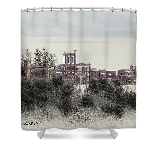 Maine Criminal Justice Academy Shower Curtain