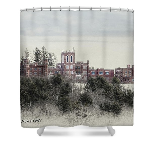 Maine Criminal Justice Academy Shower Curtain