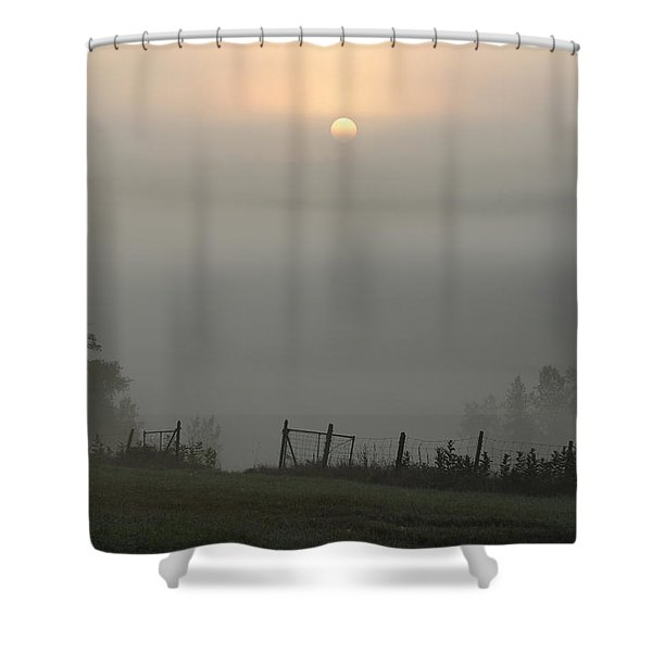 Maine Morning Shower Curtain