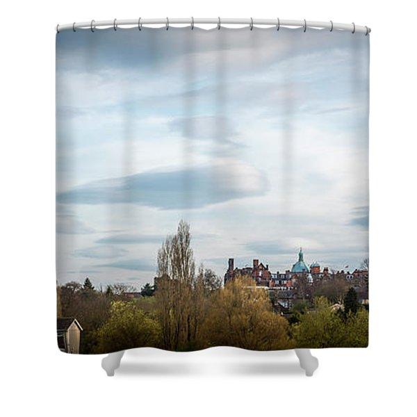 Majestic Cloud 1 Shower Curtain