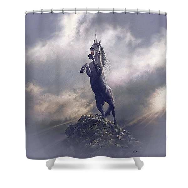 Majestic Dignity  Shower Curtain